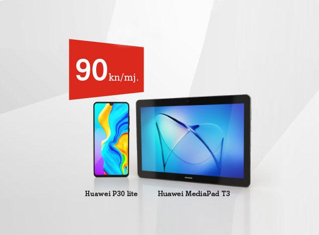 huawei p30 lite + tablet
