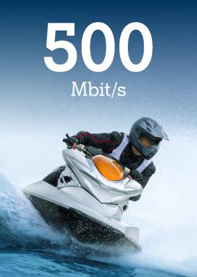 brzina 500 Mbit/s